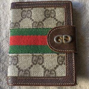Vintage Gucci card holder / wallet